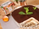 Рецепта Домашна торта тирамису - класическа рецепта с яйца Багрянка, маскарпоне, кафе, бишкоти и вино Марсала